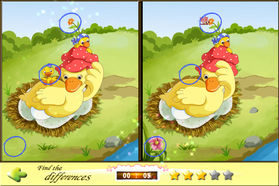Screenshot The Ugly Duckling Games by eBo